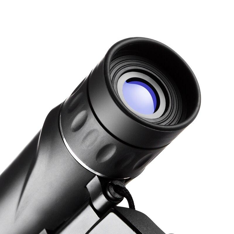 8x21 Compact Zoom Binoculars Long Range Folding HD Powerful Mini Telescope Bak4 FMC Optics Hunting Sports Black Kids Telescope 5