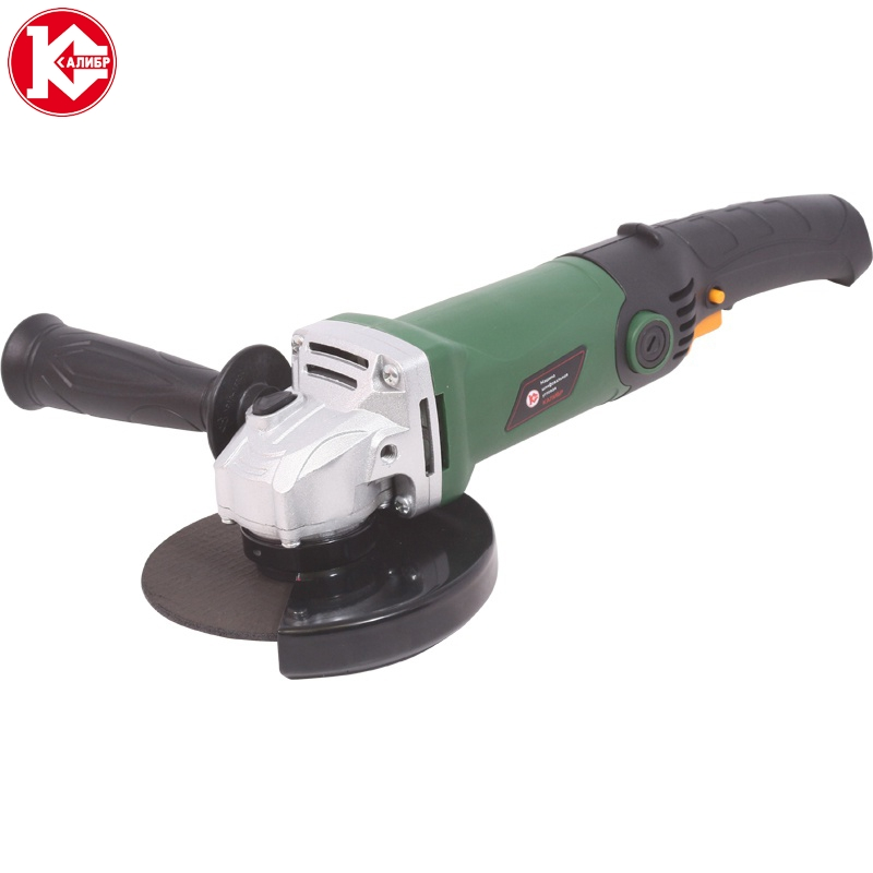 Electric tool Angle grinder Kalibr MSHU-125/955, disc 125mm, power 955W, angular power tool for grinding and cutting metall talentool 25mm diamond cutting cut off blade wheel disc rotary tool for dremel with 2pcs mandrel
