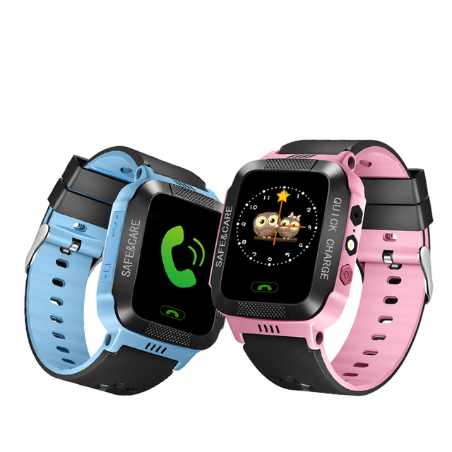 IYURNIXNUHS Touch Screen Smart Watch with Camera Flashligh SOS Call Location Device Tracker for Kid Monitoring YS21S 1