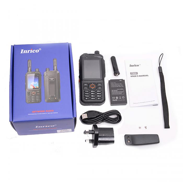 Inrico T320 4g LTE UE Band (Android)Inrico T320 4g LTE UE Band (Android)