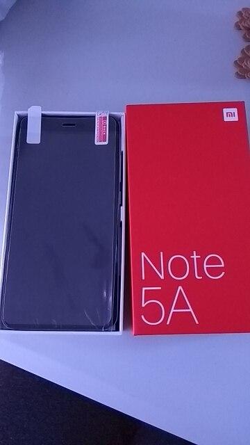 """Original Xiaomi Redmi Note 5A 5 A 64GB 4GB RAM Mobile Phone Snapdragon 435 Octa Core 16MP Front Camera 5.5"""" Fingerprint MIUI 9"""