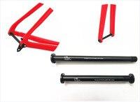 Front 12mm*100mm Rear 142*12 Road Bike Thru Axle QR Skewer quick release Black Axle Skewer Bicycle Wheels