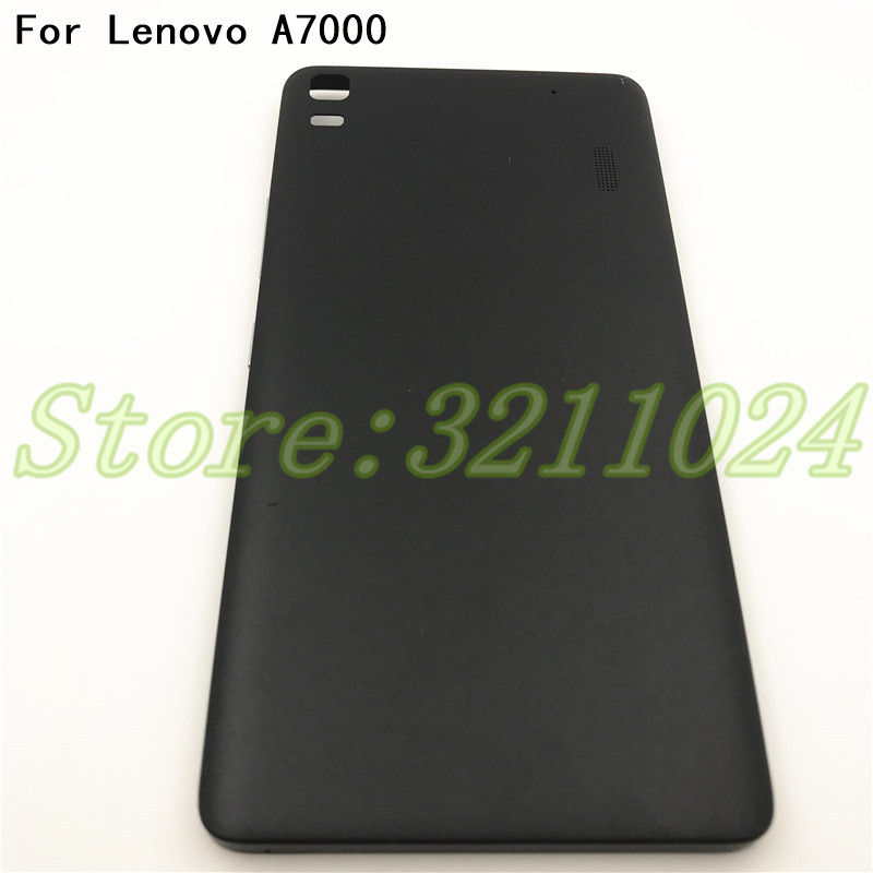 Back <font><b>Battery</b></font> <font><b>Cover</b></font>+buttons For <font><b>Lenovo</b></font> <font><b>K3</b></font> <font><b>Note</b></font> K50 k50-t3s A7000 Phone case Housing Replacement Parts With Logo image