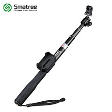 Smatree SmaPole Q2 Extendable Selfie Stick / Monopod for GoPro Hero 5/four/three+/three/2/1/Session,for Xiaomi Yi/SJCAM Digital camera