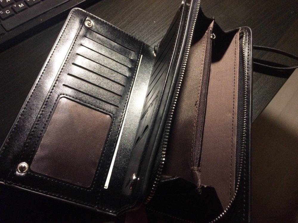 Baellerry Zipper Long Women Wallet Phone Clutch Purse Coin Female Bag For Baellery Carteras Kashelek Portomonee Cuzdan Billetera photo review