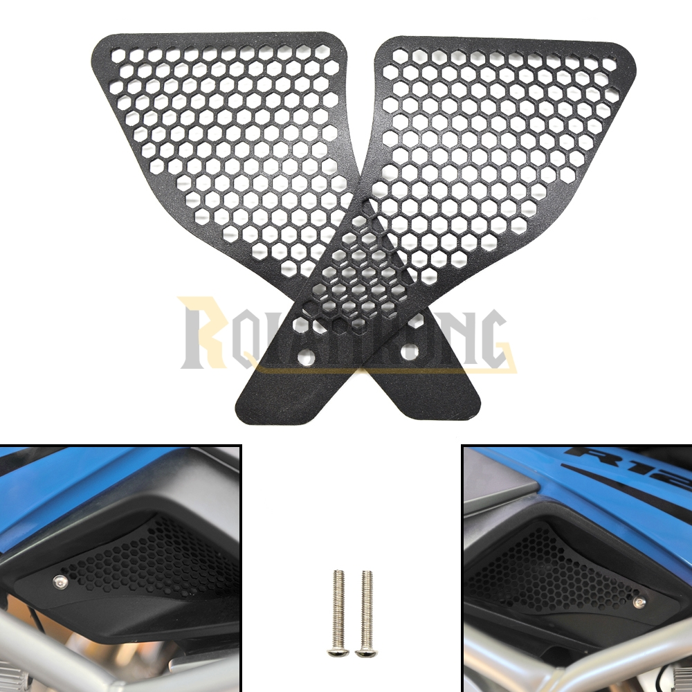 R 1200 GS Air Intake Grill Guard Cover Protector Motorcycle For BMW R1200GS LC r1200 gs 2013-2016 2014 2015 Black