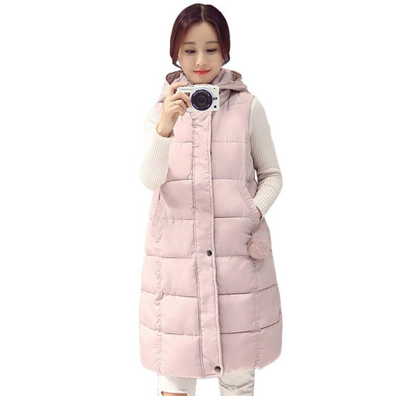 Winter Jacket Women Hooded Coat Cotton Padded   Parkas   Long Warm Sweat Girls Cold Outwear Female Down Jacket