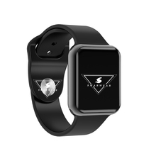 New Bluetooth Smartwatch For Apple iphone 7 8 X Android Phone Support Heart Rate Tracker Smart watch With Whatsapp Facebook
