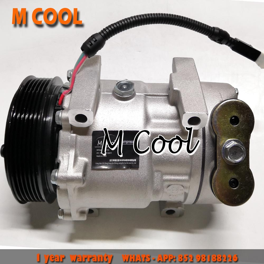High Quality AC Compressor For Peugeot 206 406 607 807 71721765 71721766 9626902180 9645306580 6453CL 6453JF 1211 1211F in Air conditioning Installation from Automobiles Motorcycles