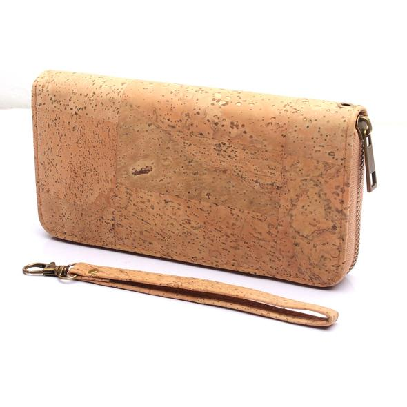 Cork bags cork wallet for women handmade Brown color cork original lady wallet Cork supplies BAG-324-F цены онлайн
