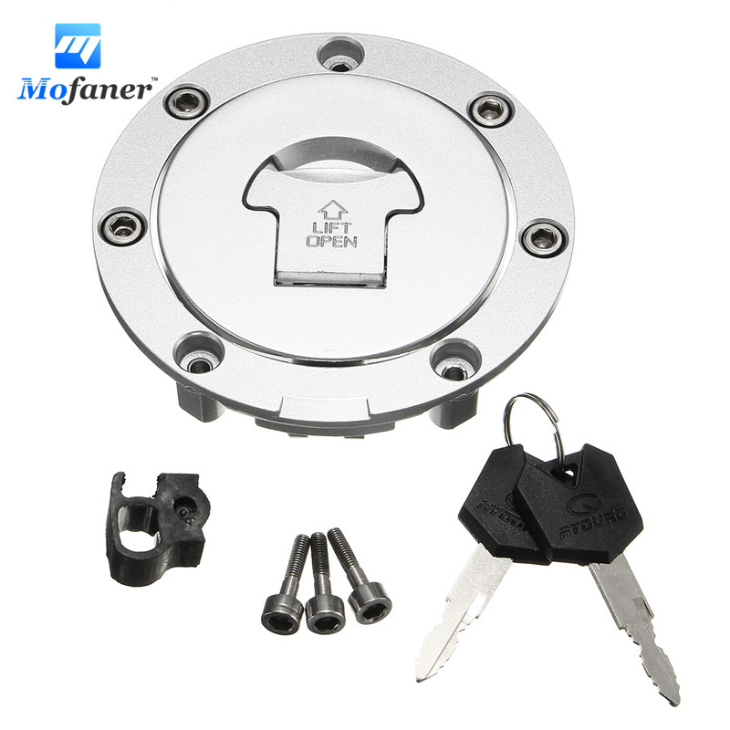 Motorcycle Fuel Gas Cap Cover Tank Lock Set with 2 Keys For Honda CBR600 03-06 CBR1000 04-07 CBR1100 97-03 NT650 98-05 цена