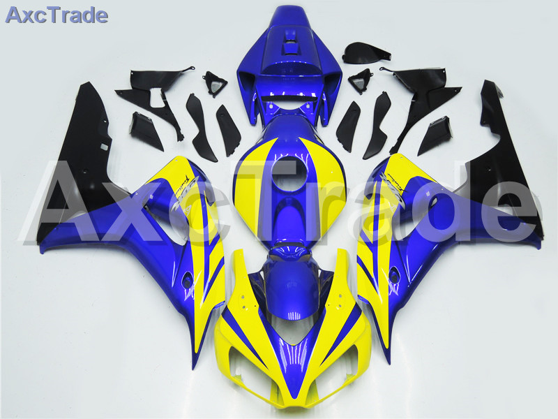 Motorcycle Fairings For Honda CBR1000RR CBR1000 CBR 1000 RR 2006 2007 06 07 ABS Plastic Injection Fairing Kit Bodywork Blue A224 injection mold fairing for honda cbr1000rr cbr 1000 rr 2006 2007 cbr 1000rr 06 07 motorcycle fairings kit bodywork black paint