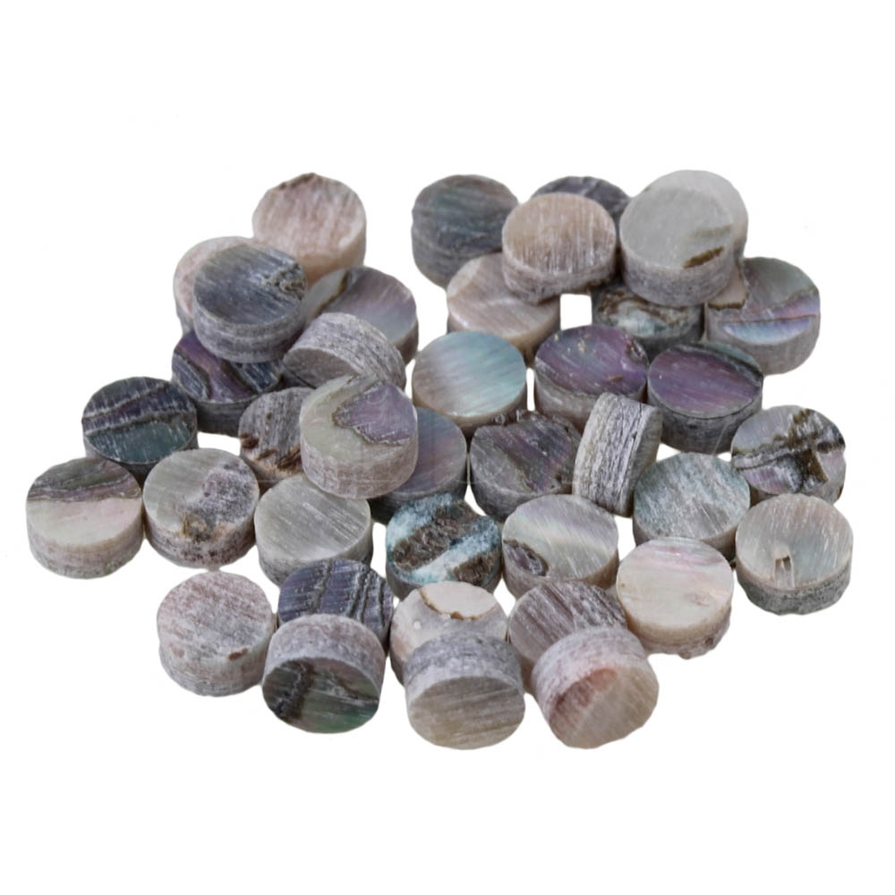 Ingenious Yibuy100 Pcs 4mm Colorful Abalone Inlay Fingerboard Dots For Mandolin Guitar Musical Instruments