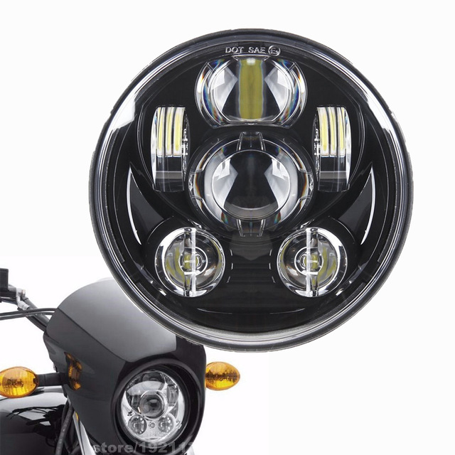 Motorcycle Accessories Black/Chrome 5-3/4