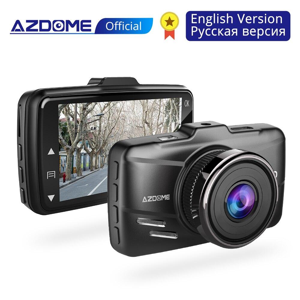 AZDOME M01 Dash Cam 3 zoll 2.5D IPS Bildschirm Auto DVR Recorder HD 1080 P Auto Video Recorder Dashcam Dash kamera