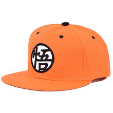 5152596f0c917 Pkorli Japan Anime Dragon Ball Z Baseball Cap Kakarotto Orange Flat  Snapback Hip Hop Caps Unisex Men Women Adjustable Goku Hat