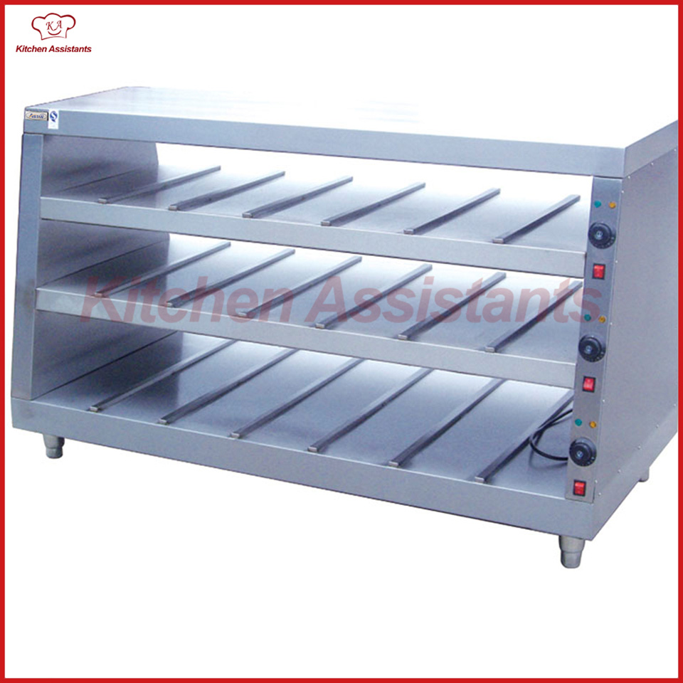 DH10P commercial electric Chinese food warmer display showcase machine