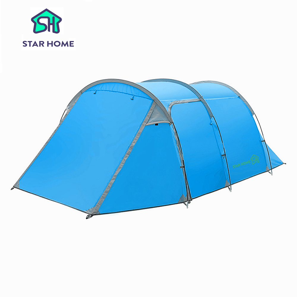 Outdoor Camping Tents Waterproof Camping Tents 3-4 Persons Tent Outdoor Family Tent