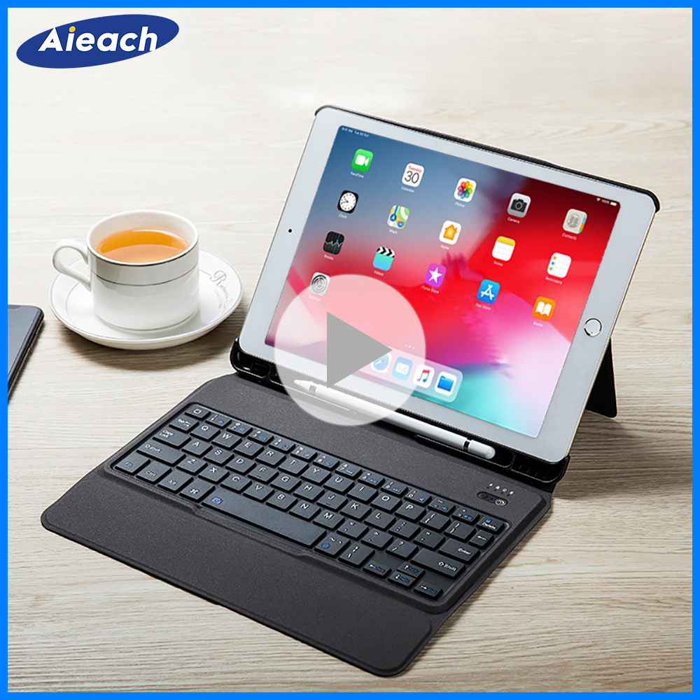 Smart Keyboard Case For iPad 2018 2017 5th 6th Air 1 2 Detachable Design Wireless Bluetooth Teclado Cover For iPad Pro 10.5 9.7