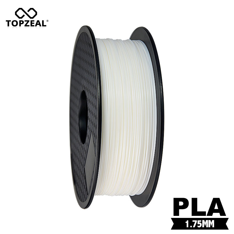 TOPZEAL High Quality PLA 3D Printer Filament White Color 1.75mm 1KG Spool for 3D Printing MaterialsTOPZEAL High Quality PLA 3D Printer Filament White Color 1.75mm 1KG Spool for 3D Printing Materials