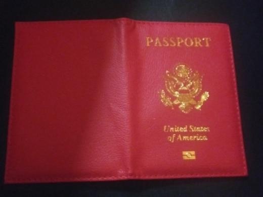 Travel Cute USA Passport Cover Women Pink USA Passport Holder American for Passports Girls Case Passport Wallet Pasaporte # photo review