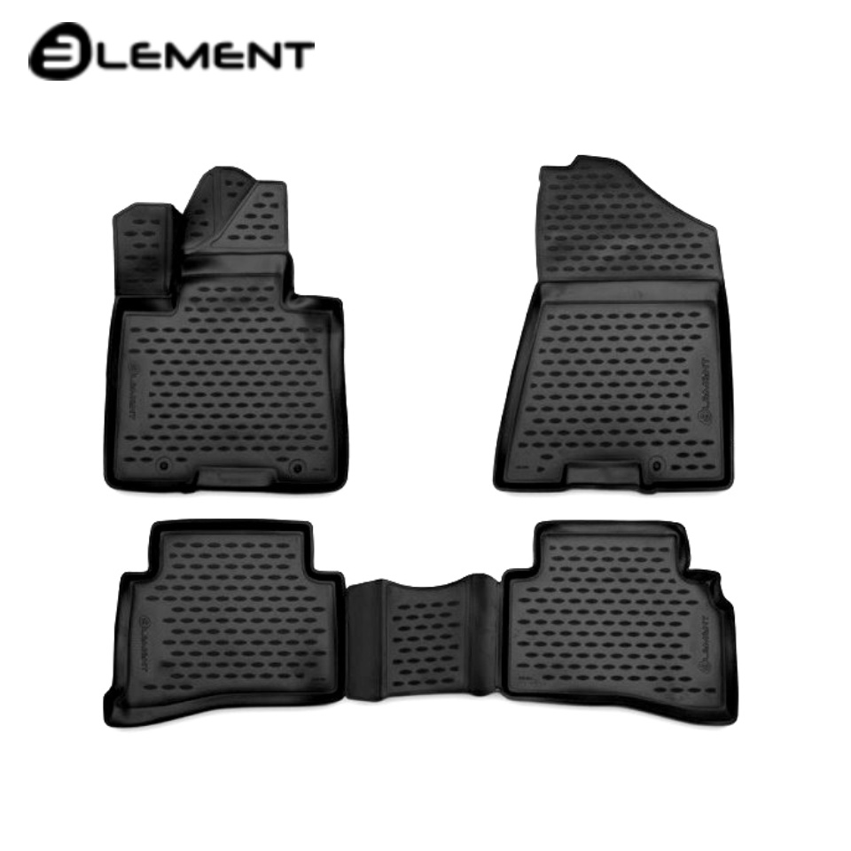 For Hyundai Tucson 3 2015-2019 3D floor mats into saloon 4 pcs/set Element CARHYN00001 3da11 drill bits for 3d printer nozzle cleaning kit 3 pcs