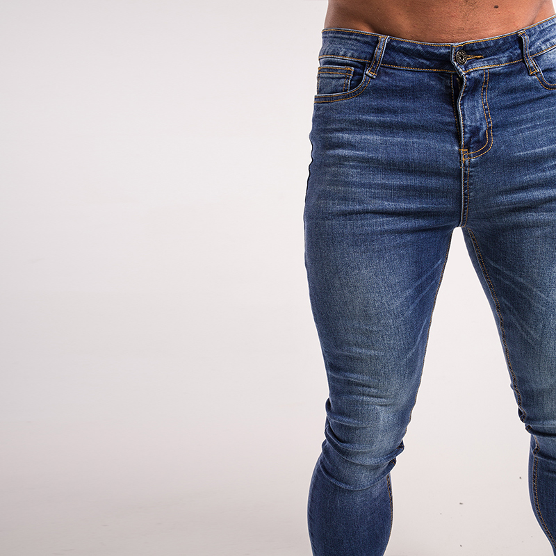 gingtto-mens-skinny-jeans-blue-denim-super-spray-on-street-fashion-zm05-4