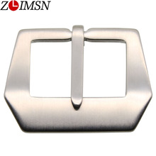 100Pcs DHL Watch Buckle 20mm 22mm 24mm 28mm Pure Stainless Steel Watchband Clasp Silver Brushed Watches Buckles Clasps K43 EMS