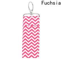 New 1 Pc Lipstick Bag Pendant Cute Women Key Chain Pendant Holder Purse Handbag Bag Charm Keychain