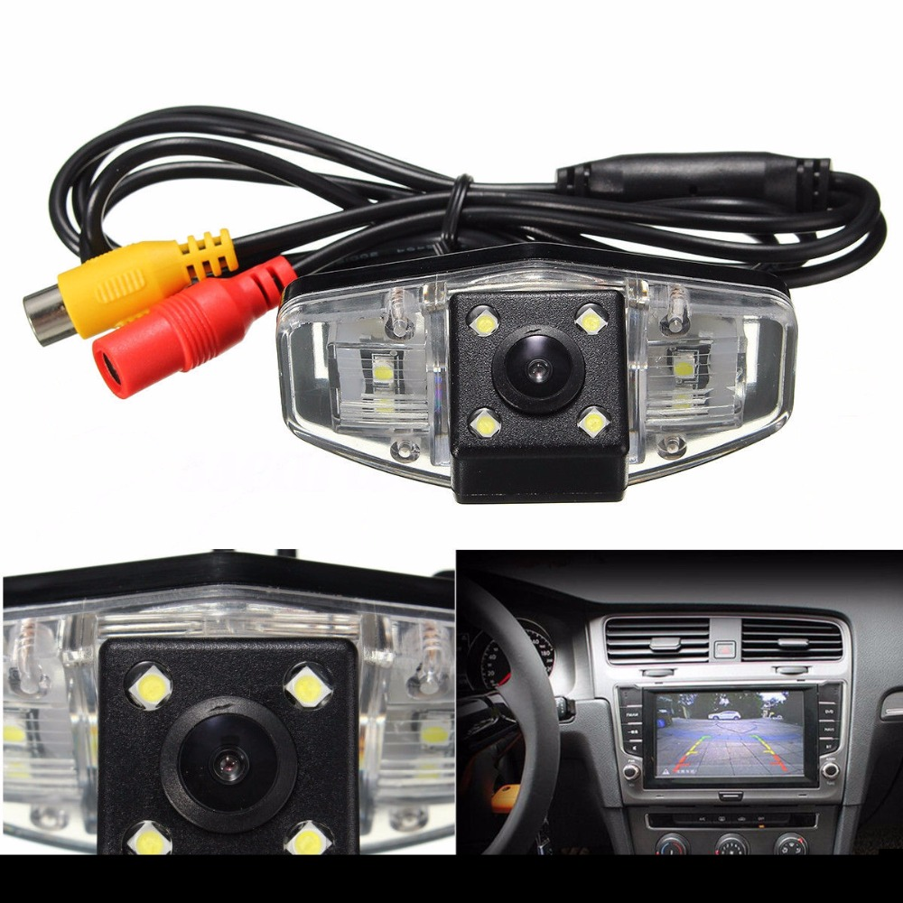 Car Rear View Reverse backup Camera rearview reversing parking for Honda Accord Pilot Civic Odyssey