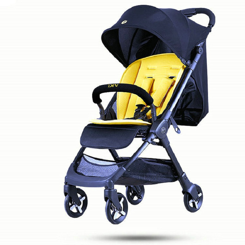 Mini Baby Stroller High Landscape Portable Lightweight Baby Strollers Foldable Baby Pram Pushchairs Kinderwagen Weight 4.9KG 2017 special offer poussette baby strollers aiqi stroller portable foldable high landscape suspension umbrella pram pushchair
