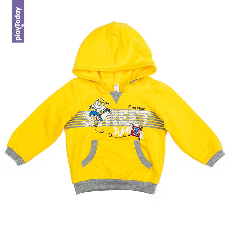 Hoodies and Sweatshirts PLAYTODAY for boys 377019 Children clothes kids clothes hoodies