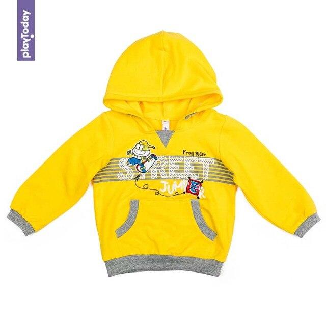 Толстовка с капюшоном PLAYTODAY для мальчиков 377019