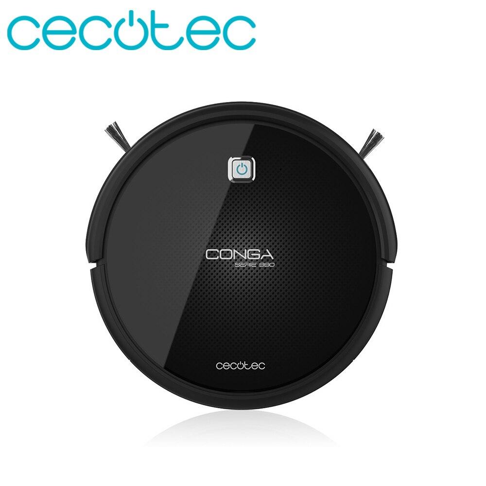 Cecotec Robot Stofzuiger Conga Serie 990 Intelligente en Krachtige voor Huishoudelijke Elektrische Machine Professionele 4 in 1 Ideaal