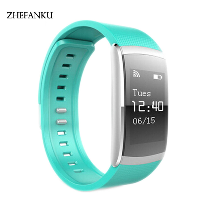 Waterproof Bluetooth Smart Watch Heart Rate Monitor Health Monitor Fitness Tracker For Android IOS Phone Calling Smart Watch mu2 unisex bluetooth wrist watch health sleep monitor for android ios