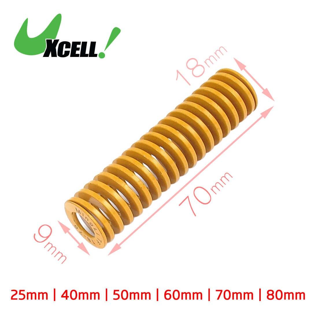 20mm OD 70mm bobine charge lourde Compression Estampage moule brun Ressort