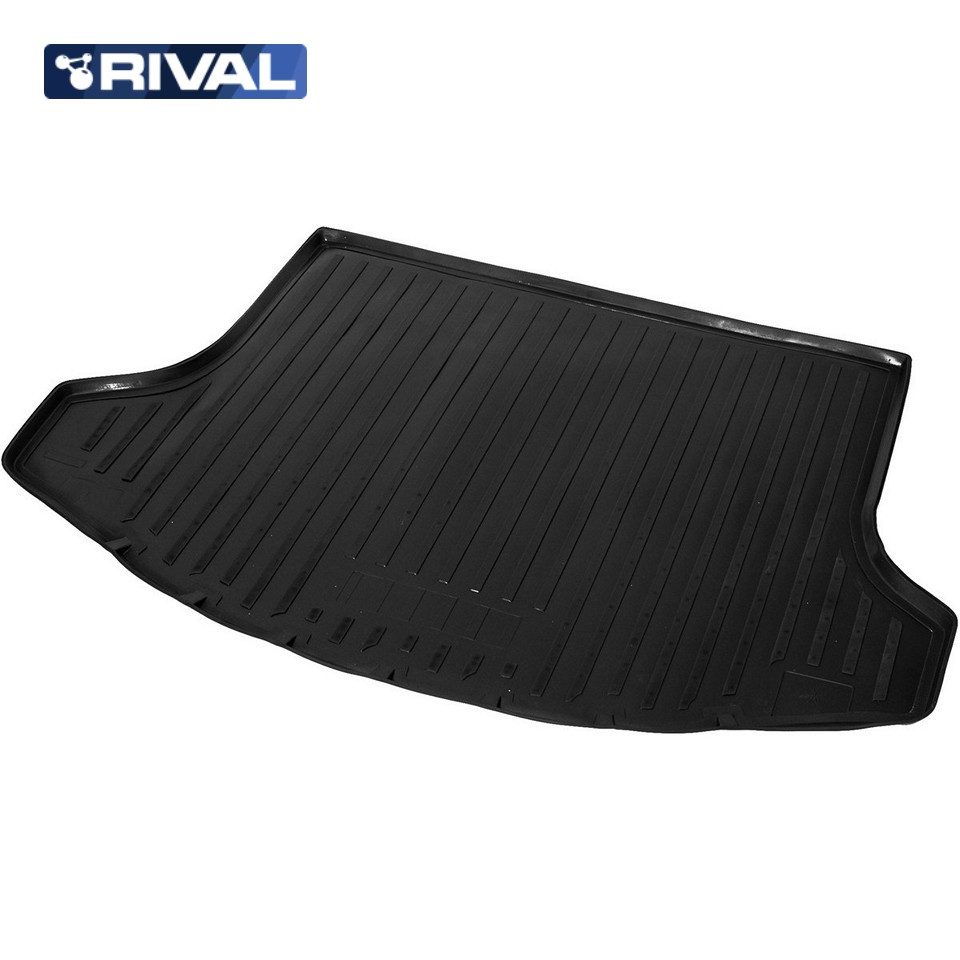 Фото - For Kia Sportage 3 2010-2015 trunk mat Rival 12805002 коврик багажника rival для chevrolet cruze i седан 2009 2015 полиуретан 11003003