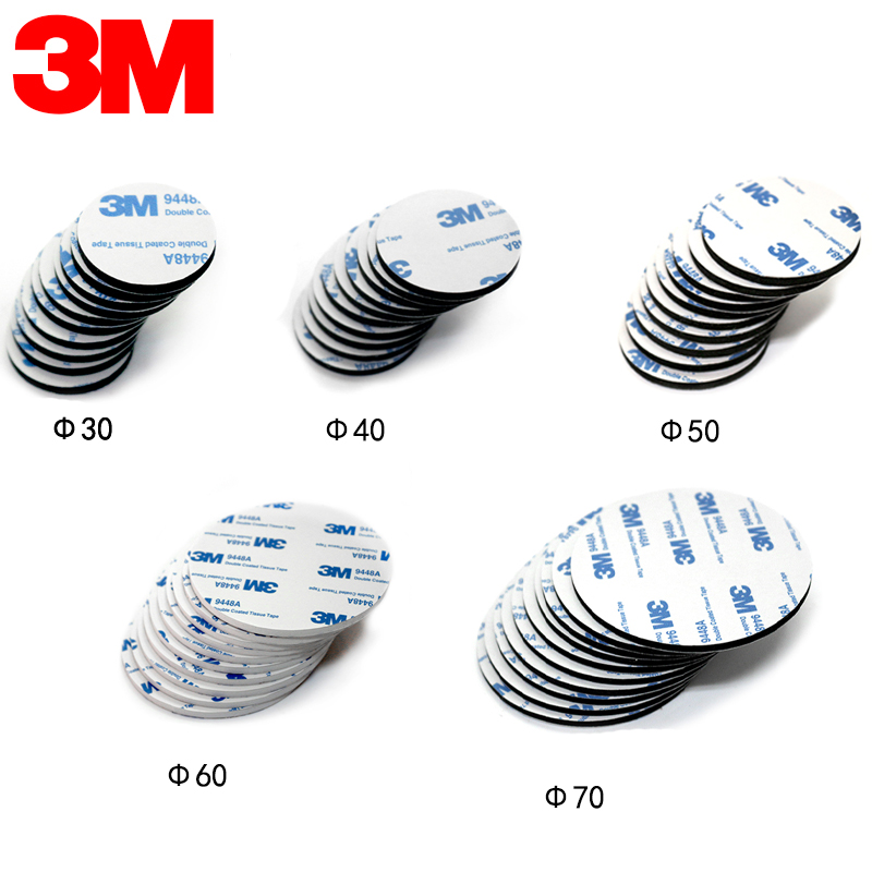 10pcs/lot 3M 9448A White Double Sided EVA Foam Tape Pad Mounting Tape Auto Car Decorative Article Wall Pendant Home Use цены онлайн