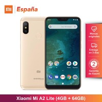 [Global Version for Spain] Xiaomi Mi A2 Lite (Memoria interna de 64GB, RAM de 4GB, Camara dual de 12 + 5 MP) smartphone