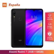 [Глобальная версия для Испании] Xiaomi Redmi 7 (Memoria interna de 64 GB, ram de 3 GB, Bateria de 4000 mah) Movil
