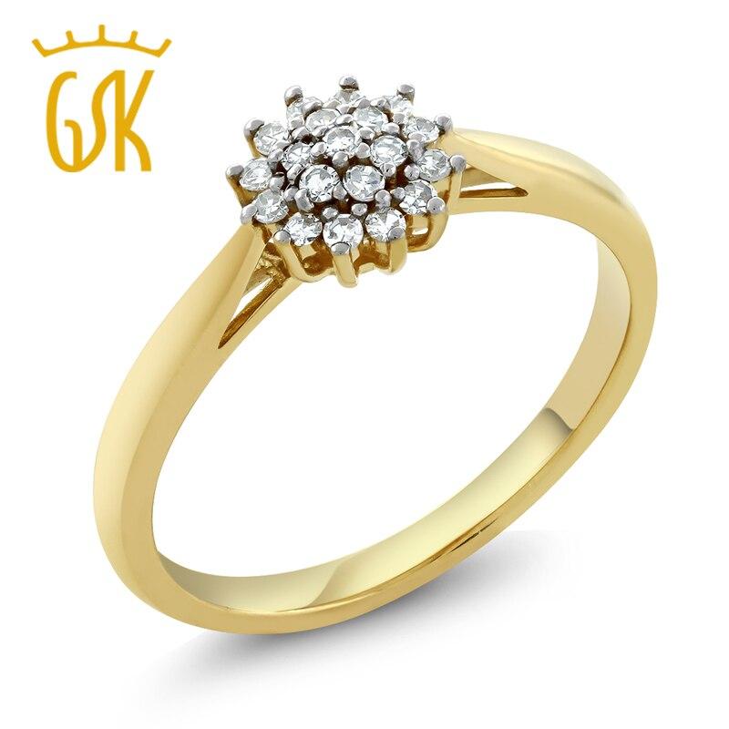 Online Get Cheap Diamond Cluster Wedding Rings Aliexpresscom