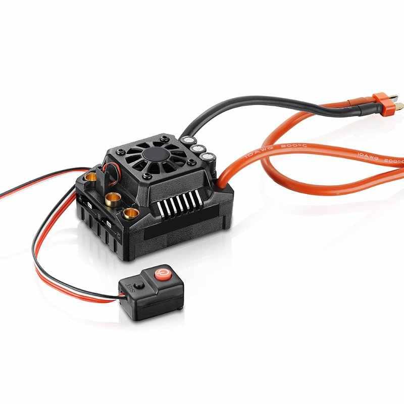 Hobbywing EzRun Max8 v3 150A impermeable sin escobillas ESC T/TRX macho + 2200KV Motor para 1/8 piezas del coche del RC