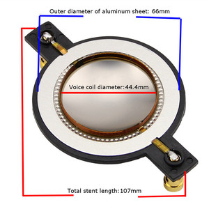 Image 4 - LEORY 44.4mm Replacement Diaphragm High Voice Coil High Pitched Membrane For Behringer 44T120D8 / 44T30D8 / 44T30I8 / 44T60C8