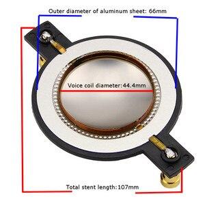 Image 4 - LEORY 44.4mm yedek diyafram yüksek ses bobini yüksek eğimli membran Behringer için 44T120D8/44T30D8/44T30I8/44T60C8