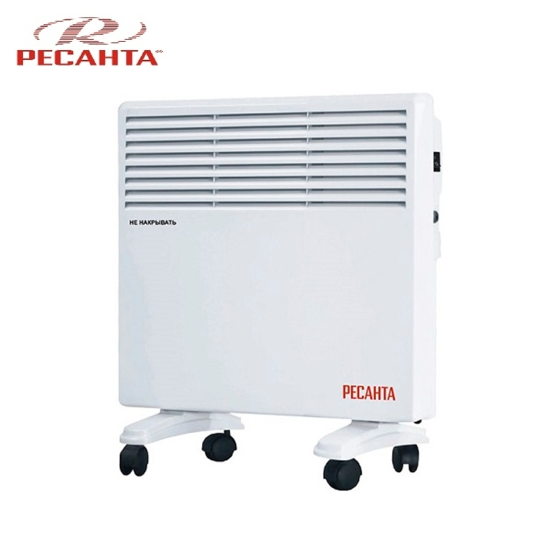 Convector RESANTA OK-1000E Heating device Electroconvector Forced convection heater Wall-hung convector Mechanical converter convector resanta ok 1000