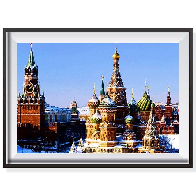 Sans cadre Russie Saint pétersbourg Église De Noël Gagnant ...