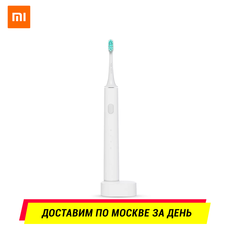 Xiaomi Mijia Electric Toothbrush (White) Bluetooth Waterproof Wireless Charge Mi Home APP Control Smart Home xiaomi soocas x3 electric toothbrush travel case