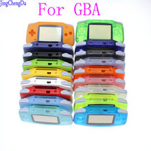Replacement Luminous Clear Case Shell Cover for Nintendo for GBA Housing Case for Gameboy Advance Console Buttons Screw Driver(China)