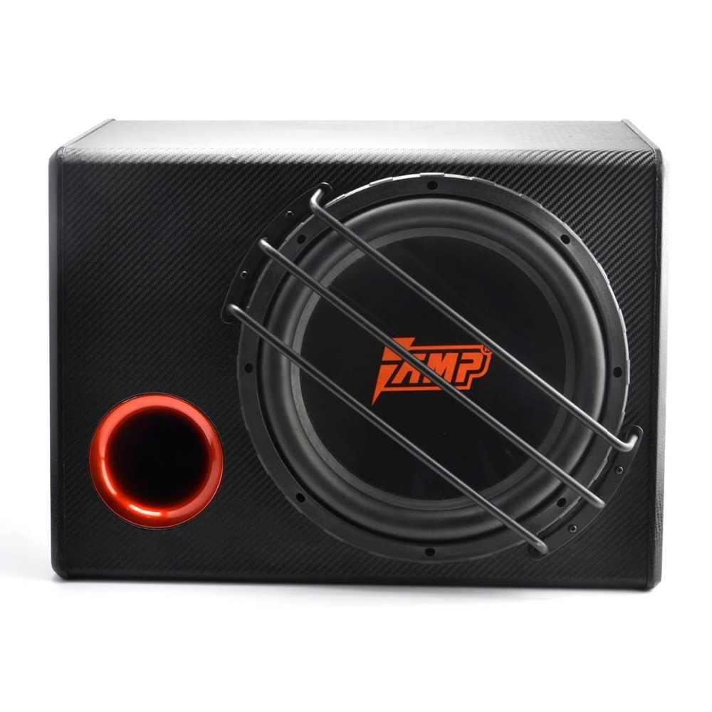 AMP L12SB Универсальный 12 дюймовый автомобильный сабвуфер Max 500 Вт HIFI активный сильный бас Авто Аудио Звук домашний НЧ динамик с усилителем