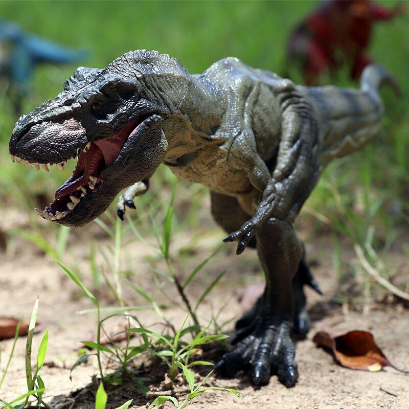Jurassic world Tyrannosaurus Dragon Park Dinosaur spinosaurus Plastic Dinosaur Toy Model Mandible Moveable for children